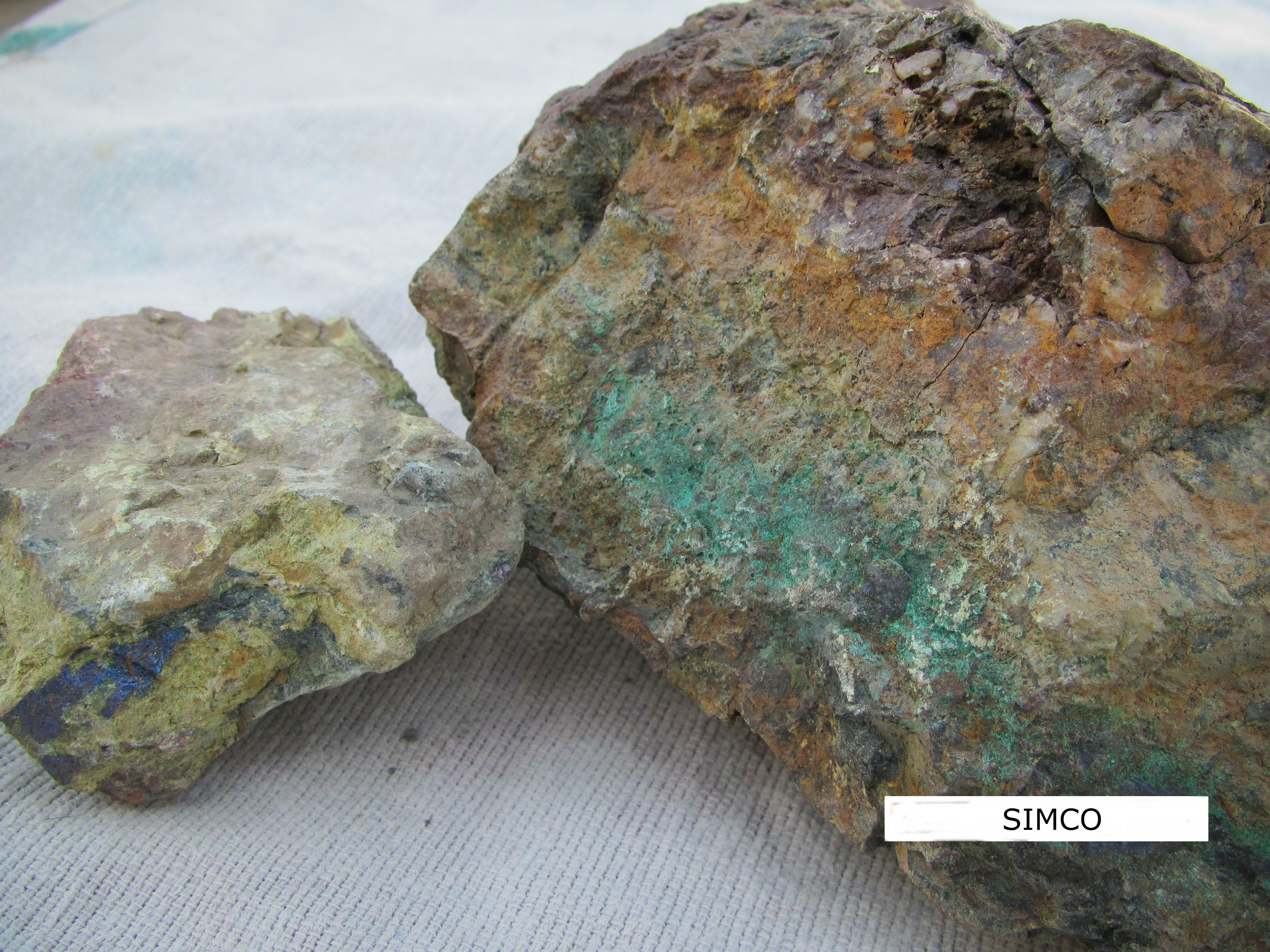how to find copper ore